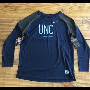 Nike dri-fit UNC Tarheels shirt